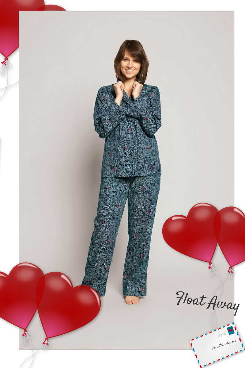FLOAT AWAY YAWN PYJAMA SET