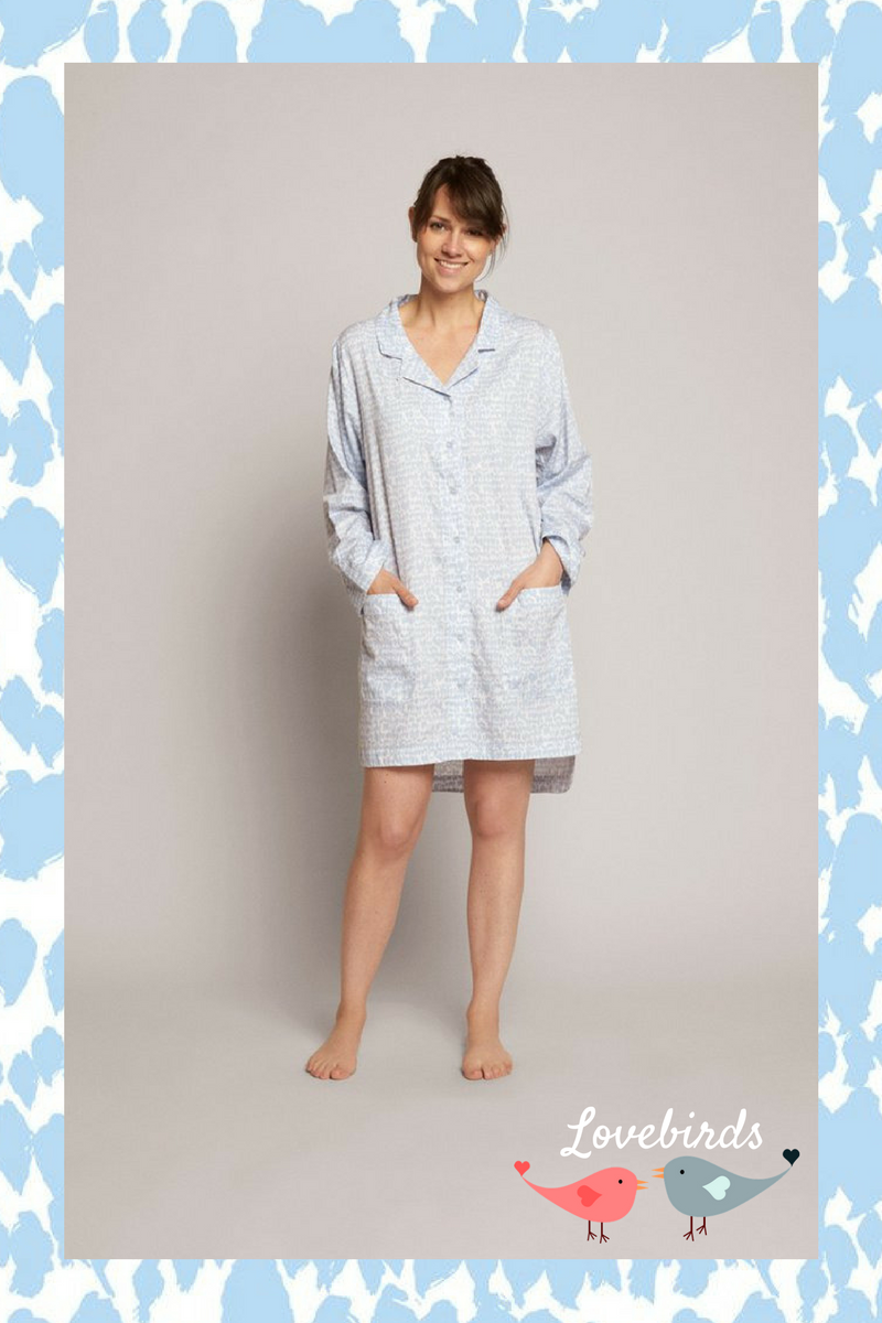 Lovebirds YAWN SLEEPWEAR
