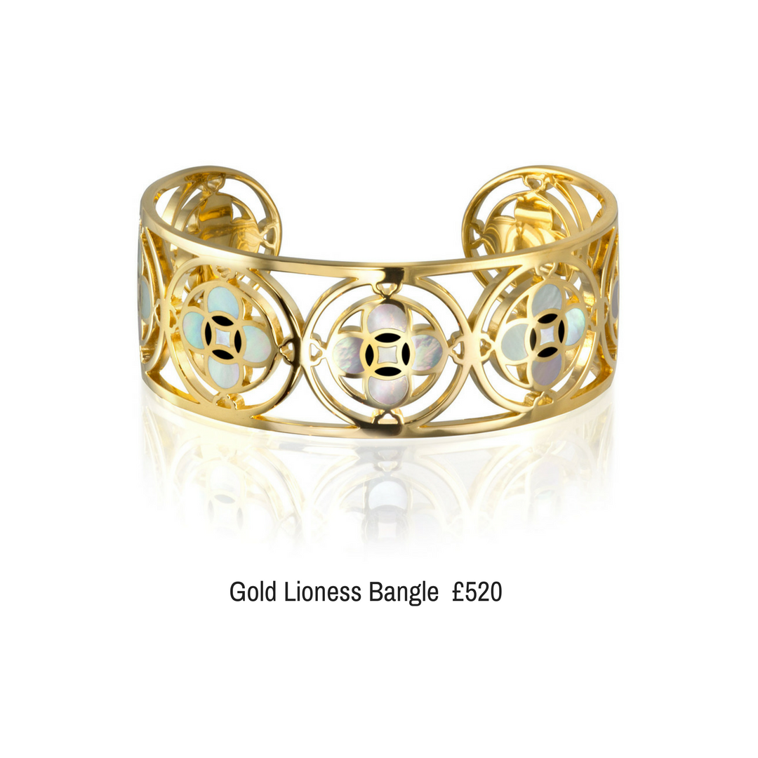 Gold Plated Cuff Veritas Bespoke Jewellery
