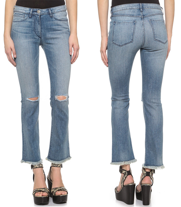 3x1 Crop Baby Bootcut Jeans