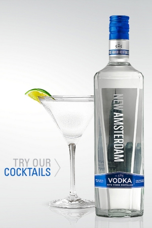 New Amsterdam Vodka To Sponsor Fashions Finest AW17